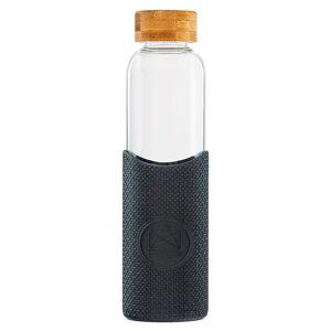 Neon Kactus, skleněná láhev, 550 ml, černá, GB01
