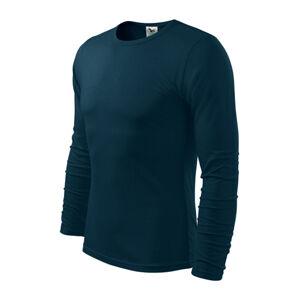 Adler Fit-T tričko s dlouhým rukávem, tmavě modré, 160g / m2 - XL
