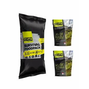 Adventure Menu Survival food pack menu IV, Jelení ragú s bramborema a Kuře Korma s rýží,  810g