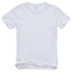 Brandit dětské tričko s krátkým rukávem, bílá - 122/128