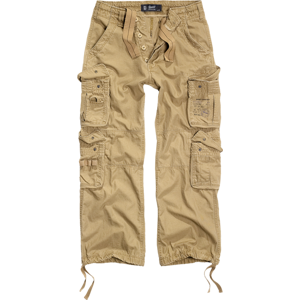 Brandit Pure Vintage kalhoty, béžové - L