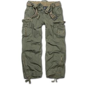 Brandit Royal Vintage kalhoty, olivové - M