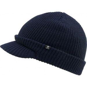 Brandit Shield Cap pletená čepice s kšiltem, navy