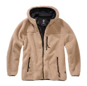 Brandit Teddy flísová dámská bunda, camel - XS