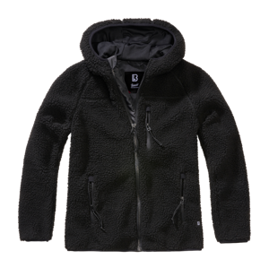 Brandit Teddy flísová dámská bunda, černá - XS