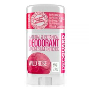 DEOGUARD tuhý deodorant, divoká růže 65g