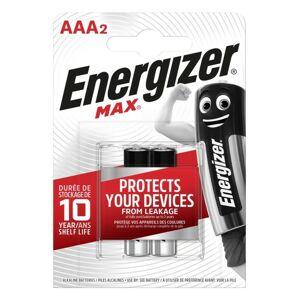 Energizer MAX alkalická baterie AAA/2 LR03 FSB2, 2ks