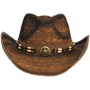 Fox Outdoor klobouk slaměný Tennessee, hnědo černý