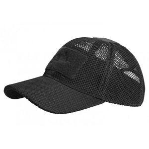 Helikon Mesh taktická síťová kšiltovka, černá