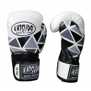 Katsudo box rukavice Kink, bílé - 8 OZ
