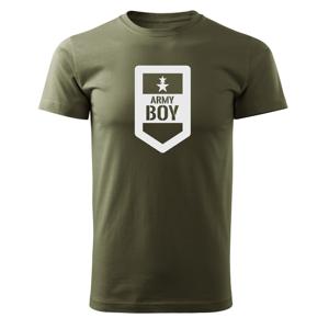 WARAGOD krátké tričko army boy, olivová 160g/m2 - 3XL