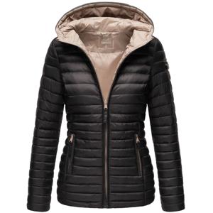 Marikoo ASRAA Dámska prechodná bunda s kapucňou, čierna - XS