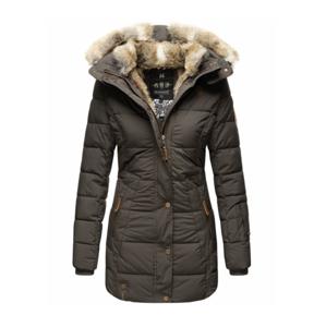 Marikoo LIEBLINGS JACKE Dámska zimná bunda s kapucňou, anthracite - XS