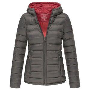 Marikoo Lucy dámská zimní bunda s kapucí, antracit - XS