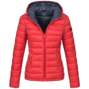 Marikoo Lucy dámská zimní bunda s kapucí, červená - XS