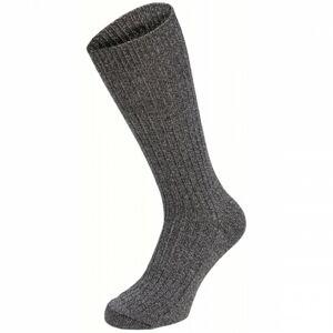 MFH BW Sckn ponožky 1 pár, šedé - 47–48