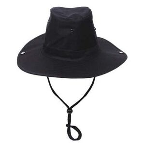 MFH Cowboy klobouk černý - 55