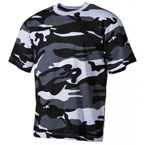 MFH maskáčové tričko vzor skyblue, 160g/m2 - XXL