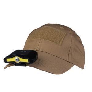 Mil-tec COB Cap Light čelovka na kšiltovku, černá