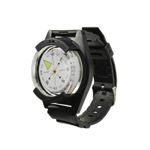 Mil-tec kompas náramkový, černý