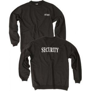 Mil-Tec Security natural mikina, černá - XXL