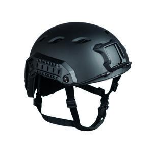 Mil-tec US helma výsadkář Fast W/Rail, černá