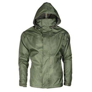 Mil-tec Weather nepromokavá bunda do deště, olivová - M