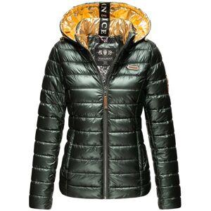 Navahoo Aurelianaa dámská zimní bunda s kapucí, olivová - XL