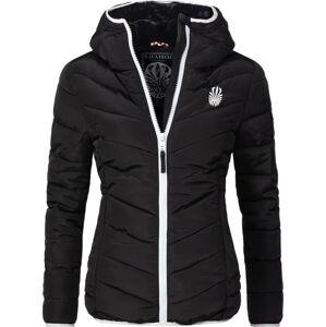 Navahoo ELVA Dámská zimní bunda s kapucí, černá - XS