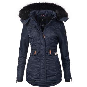 Navahoo SCHATZCHEN Dámska zimná bunda s kapucňou, modrá - XS