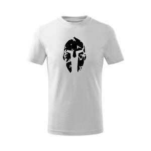 WARAGOD Dětské krátké tričko Spartan, bílá - 12let/158cm
