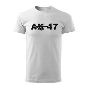 WARAGOD krátké tričko ak47, bílá 160g/m2 - XL