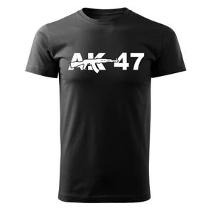 WARAGOD krátké tričko ak47, černá 160g/m2 - XXL