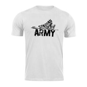 Waragod krátké tričko spartan army Nabis, bílá 160g/m2 - XXL