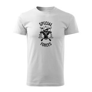 WARAGOD krátké tričko special forces, bílá 160g/m2 - L