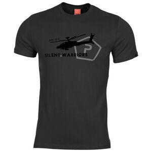 Pentagon Helicopter tričko, černé - 3XL