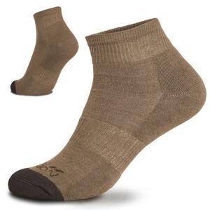 Pentagon Low cut ponožky, coyote - 45–47