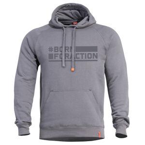 Pentagon Phaeton Born for Action mikina s kapucí, melange - 3XL