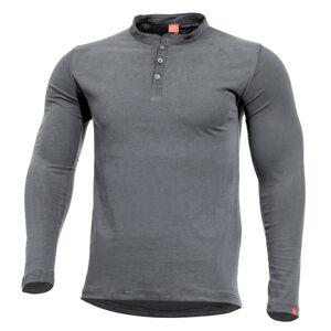 Pentagon Romeo triko s dlouhým rukávem, sivé - S