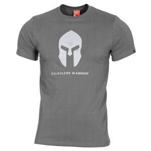Pentagon Spartan Helmet tričko, sivé - S