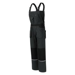 Rimeck Woody pánské pracovní kalhoty na šle, šedé - M