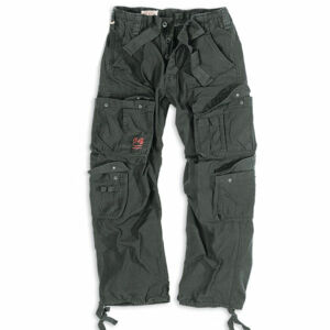 Surplus Vintage kalhoty, černé - 7XL