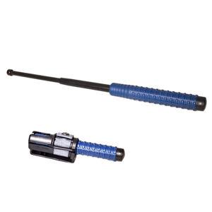 """Tel. obušek ESP 18 """"45cm, kalený, černý, modrá rukojeť"""