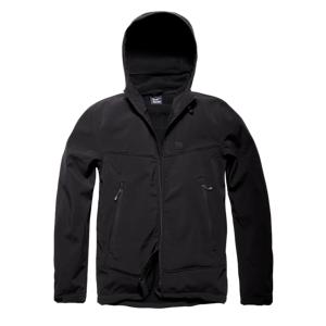 Vintage Industries Alford Softshell bunda, černá - L