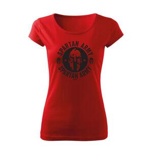 WARAGOD dámske krátke tričko Archelaos, červená 150g/m2 - XS