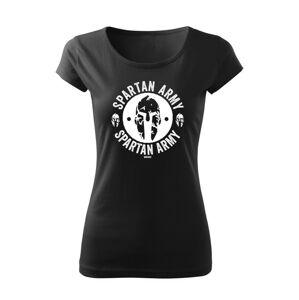 WARAGOD dámske krátke tričko Archelaos, černá 150g/m2 - XL