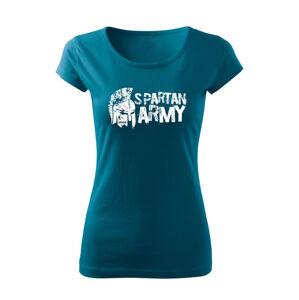 WARAGOD dámske krátke tričko Aristón, petrol blue150g/m2 - M