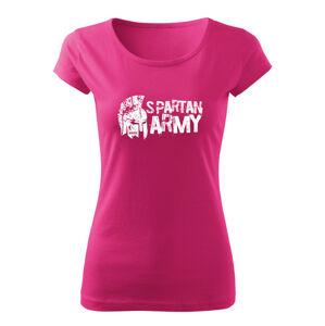 WARAGOD dámske krátke tričko Aristón, růžová 150g/m2 - XL