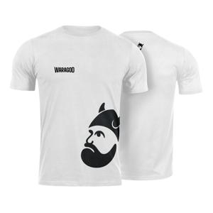 Waragod krátké tričko BigMERCH, bílá 160g/m2 - 3XL