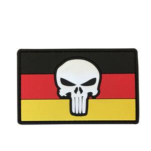 WARAGOD Nášivka 3D DE Punisher 8.5x5cm